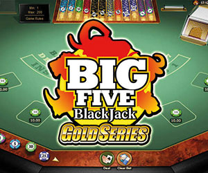 BlackJack Big 5 Blackjack Gold