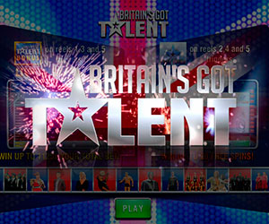 Slots Britain's got talent