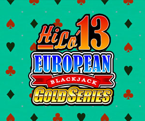 BlackJack HiLo 13 European BlackJack