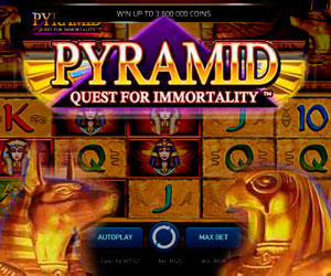 Slots Pyramid Quest For Immortality