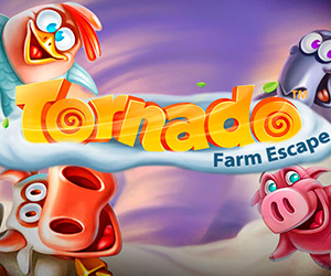 Slots Tornado: Farm Escape