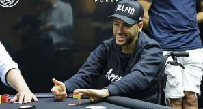 Neymar termina torneio de poker na sexta colocação e ganha quase R$ 80 mil