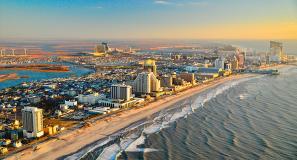 Atlantic City, o segundo maior destino para jogadores nos Estados Unidos