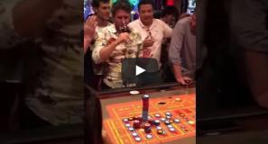 (Vídeo) Brasileiro ganha 100 mil dólares em cassino no Uruguai
