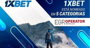 1xbet concorre a 5 prêmios do EGR Operator Awards