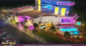 Cidade na fronteira brasileira poderá receber um Hard Rock Café Hotel & Casino