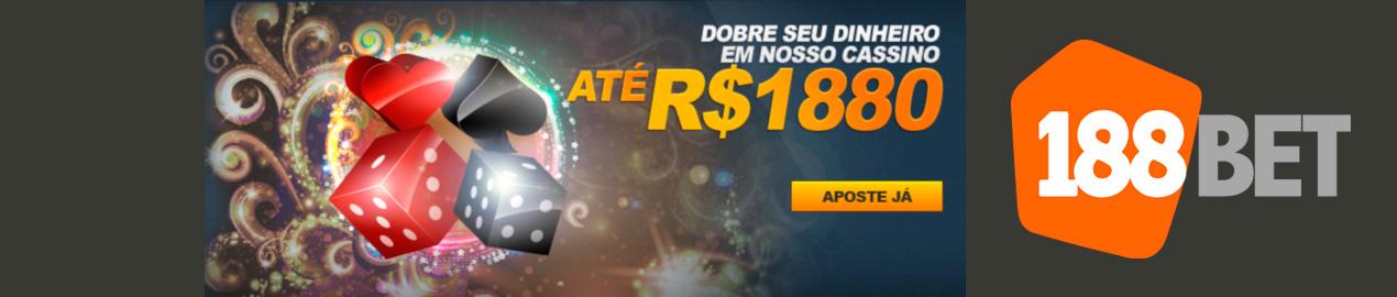 Bônus para Cassino até R$ 1.880,00 - 188bET